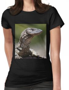 heathie the friendly heath monitor Womens Fitted T-Shirt