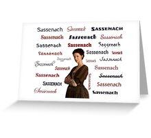 Sassenachs Greeting Card