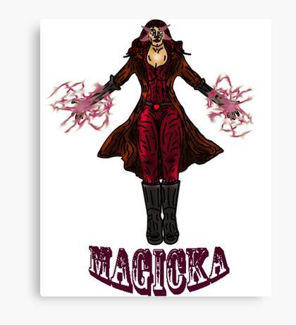 Magicka! Canvas Print
