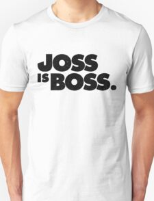 JOSS IS BOSS | BLACK INK T-Shirt