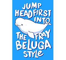 Beluga Style Photographic Print