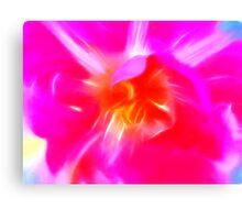 Watercolor Tulip Canvas Print