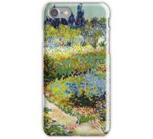 Vincent van Gogh Garden at Arles iPhone Case/Skin
