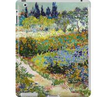 Vincent van Gogh Garden at Arles iPad Case/Skin