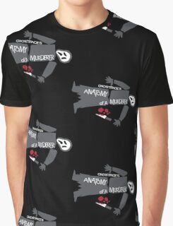 Anatomy of Ghostface Graphic T-Shirt
