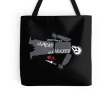 Anatomy of Ghostface Tote Bag