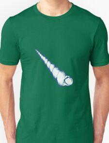 Seashell, sea shell, nature ocean aquatic underwater vector. Hand drawn marine engraving illustration on white background Unisex T-Shirt
