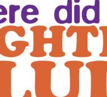Lighter Fluid Sticker