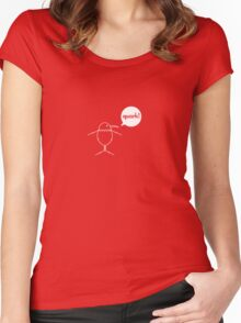 Quantum Penguin Women's Fitted Scoop T-Shirt