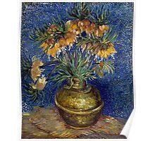 Vincent van Gogh Imperial Fritillaries in a Copper Vase Poster