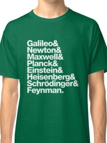 The Physicists List Classic T-Shirt