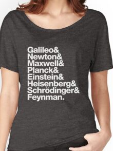 The Physicists List Women's Relaxed Fit T-Shirt