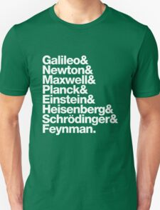 The Physicists List T-Shirt