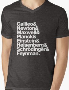 The Physicists List Mens V-Neck T-Shirt
