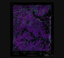 USGS TOPO Map Alabama AL Isbell 304271 1945 24000 Inverted Unisex T-Shirt