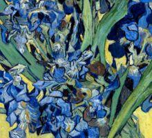 Vincent van Gogh Irises Sticker