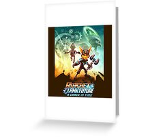 Ratchet and clank a crack in time Greeting Card