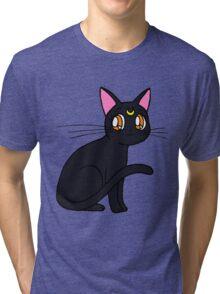 luna sailor moon Tri-blend T-Shirt
