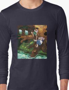 hxh guys bein dudes Long Sleeve T-Shirt