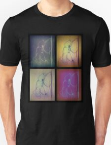 Sleeping Girl - Faces 3 T-Shirt
