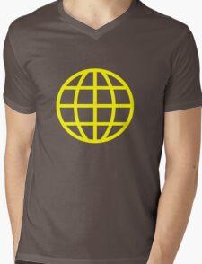 planet Mens V-Neck T-Shirt