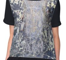 Sea Turtle Shell Abstract Chiffon Top