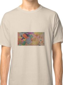 Horizons - Original Oil (half) with Organic detail. Classic T-Shirt