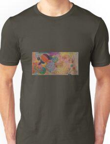 Horizons - Original Oil (half) with Organic detail. Unisex T-Shirt