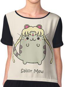 Sailor Mew Chiffon Top