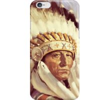Native. American. Indian Chief, Native American tribe, Indian, Head dress iPhone Case/Skin