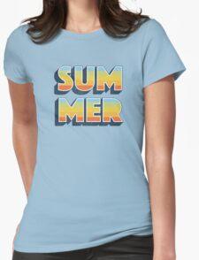 Summer Womens Fitted T-Shirt