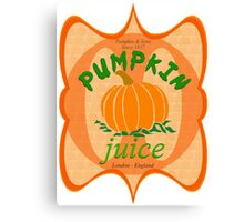 what did you expect, pumpkin juice!? Canvas Print