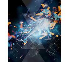 geometric explosion Photographic Print