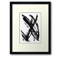 Modern-Minimalist#2 - Abstract Art Framed Print