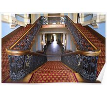 The Staircase- Werribee Mansion Poster