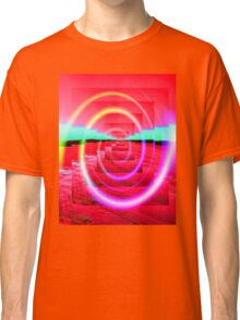 Red Abstract 2 Classic T-Shirt