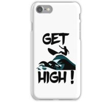Get High! Surfer Silhouette iPhone Case/Skin