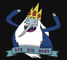 vanilla ice king Kids Tee