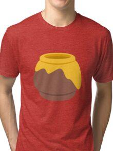 Honey emoji Tri-blend T-Shirt