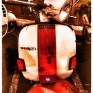 Red White and Vespa  by ArtbyDigman