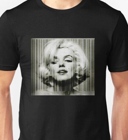 Marilyn Monroe barcode #1 Unisex T-Shirt