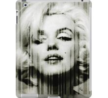 Marilyn Monroe barcode #1 iPad Case/Skin