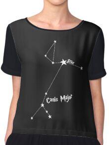 Constellation | Sirius (Canis Major) Chiffon Top
