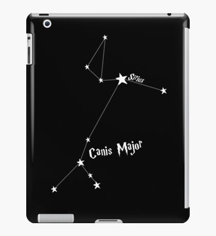 Constellation   Sirius (Canis Major) iPad Case/Skin