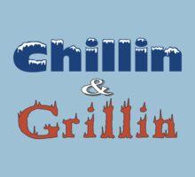 Chillin & Grillin Kids Tee