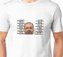 El Chapo Mugshot Unisex T-Shirt