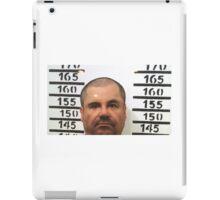 El Chapo Mugshot iPad Case/Skin