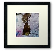 Thistle & Weeds  Framed Print