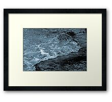 Bubbly Waters Framed Print