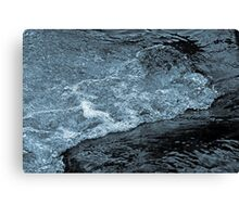 Bubbly Waters Canvas Print